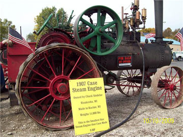 Case Steam tractor for sale